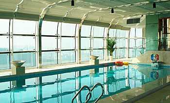 温州王朝大酒店客房游泳池