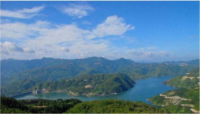 文成珊溪飞云湖风景照片