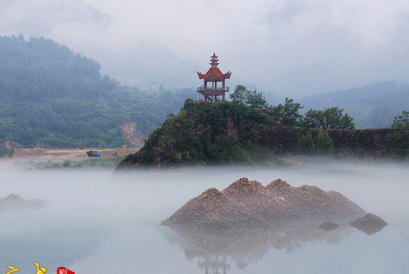 文成珊溪飞云湖图片6
