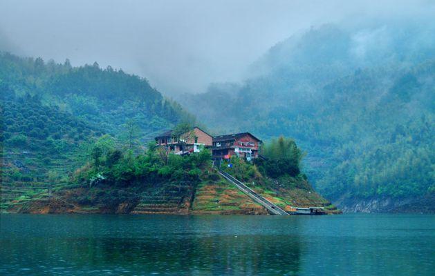 文成珊溪飞云湖图片8
