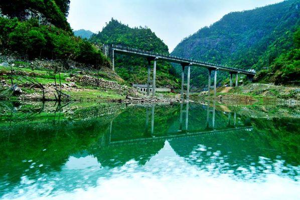 文成珊溪飞云湖图片9