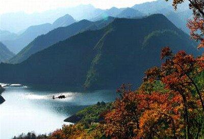 文成珊溪飞云湖图片11