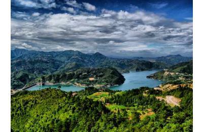 文成珊溪飞云湖图片10