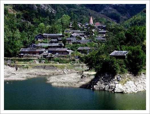 苍南碗窑古村落景点